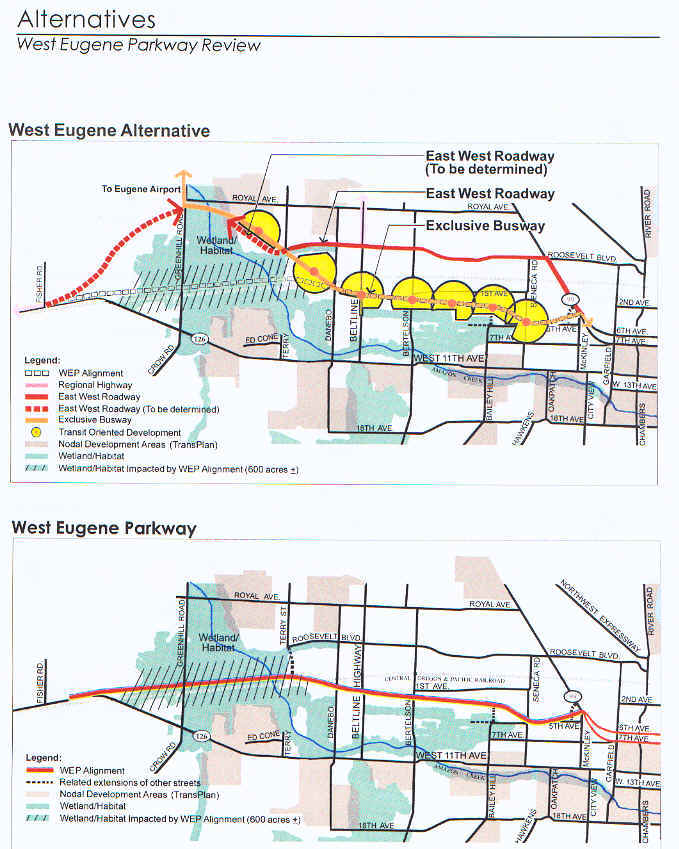 alternative route for WEP proposed by Crandall - Arambula